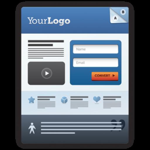 Одностраничный сайт для захвата пользовательских данных
